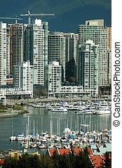 False Creek - A view of False Creek in downtown Vancouver, ...