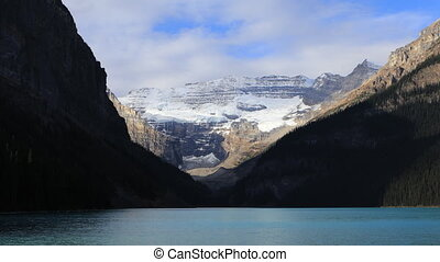 View of Lake Louise near Banff, Alberta - A View of Lake...