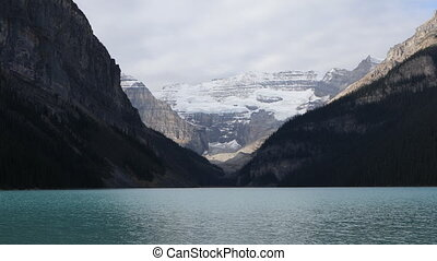 View of Lake Louise near Banff, Canada - A View of Lake...