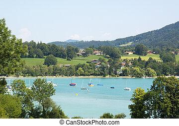Lake Tegernsee in Germany