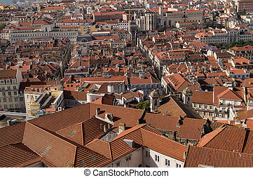 A view  of Lisbon,Portugal.