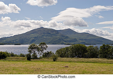 A view of Lough Leane in Killarney National Park