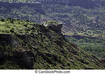 Palo Duro Canyon - A view of Palo Duro Canyon in Texas.