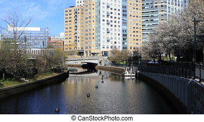 View of Providence city center - A View of Providence city...