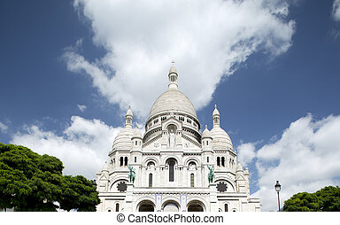sacre coeur - a view of sacre coeur