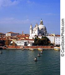 Santa Maria della Salute - A view of Santa Maria della ...