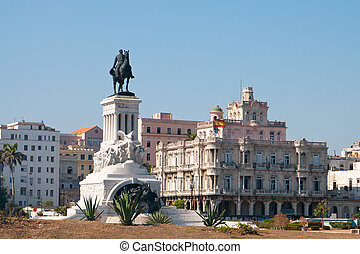 Spanish embassy, Havana cuba - A view of Spanish embassy, ...