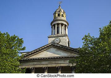 St. Marylebone Parish Church in London