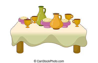 A view of table