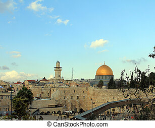 Temple Mount in the old city of Jerusalem