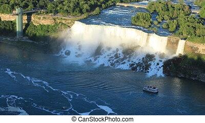 View of the American Falls, Niagara Falls