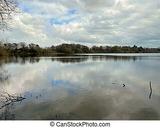 A view of the Lake at Ellesmere