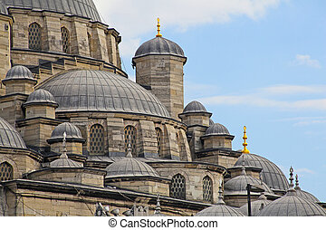 A view of the Mosque in the turkish city of Istanbul