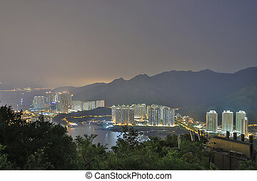 a view of Tung Chung bay hong kong - the view of Tung Chung...