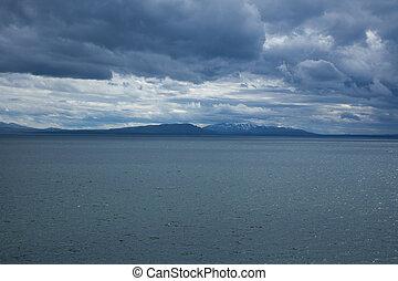 Yellowstone Lake - A view of Yellowstone Lake.