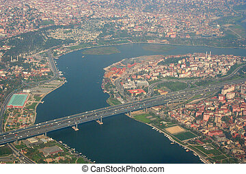 A view to Golden Horn Istanbul