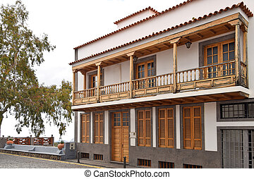 A village house in mountainsa village house in San Bartolome de Tirajana. Spain.