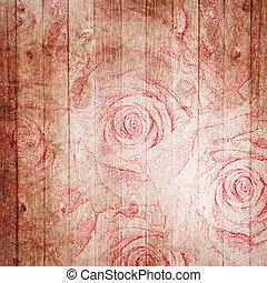 A vintage, textured background