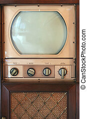 Vintage tv set - A Vintage tv set from 1949