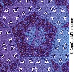 A violet pattern