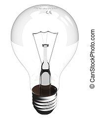 A virtual bulb - A detailed, virtual bulb