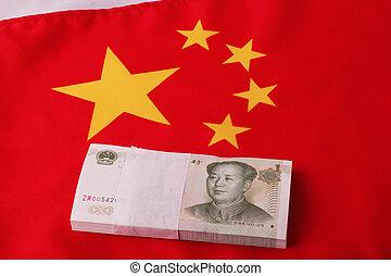 wad of 1 Yuan