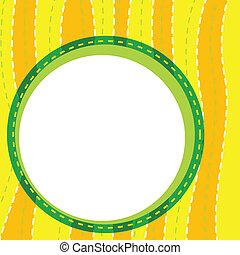 a wallpaper - illustration of a yellow wallpaper