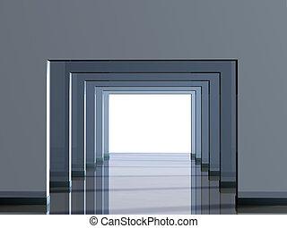 Conceptual image - a way to light