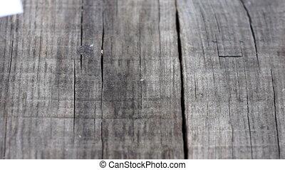 We deliver results - A We deliver results paper sign on wood...