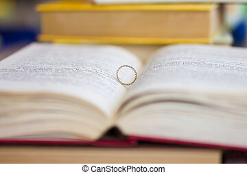 A wedding ring in the bible