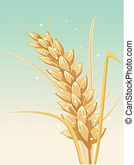 A Wheat Illustration