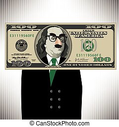 A Whimsical 100 Dollar Bill