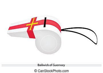 A Whistle of The Bailiwick of Guernsey - An Illustration of...
