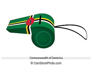 A Whistle of The Commonwealth of Dominica