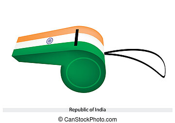 A Whistle of The Republic of India