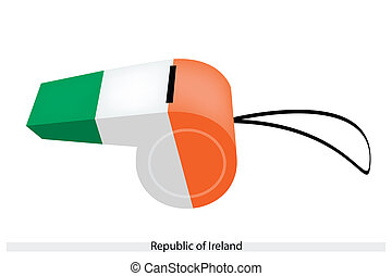 A Whistle of The Republic of Ireland
