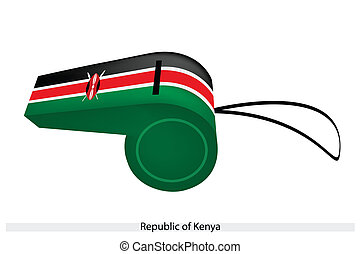 A Whistle of The Republic of Kenya
