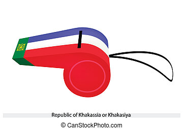 A Whistle of The Republic of Khakassia - A Yellow Sun on A ...