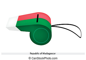 A Whistle of The Republic of Madagascar