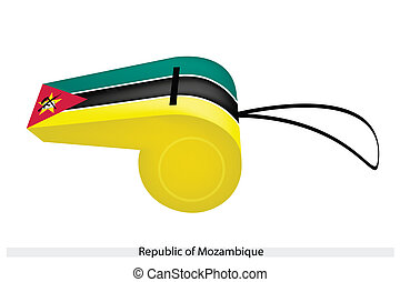 A Whistle of The Republic of Mozambique