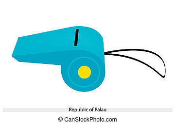 A Whistle of The Republic of Palau