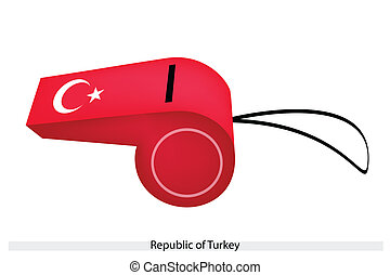 A Whistle of The Republic of Turkey