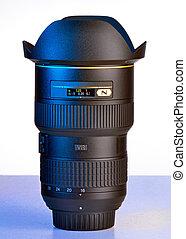 a wide DSLR lens