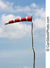 A wind sock