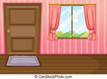 Cartoon closed window Vector Clipart EPS Images 545 Cartoon closed