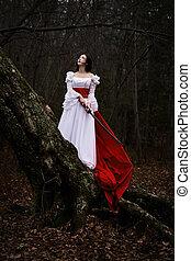 Geisha - A woman dressed up like a Geisha