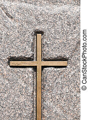 wooden Catholic cross