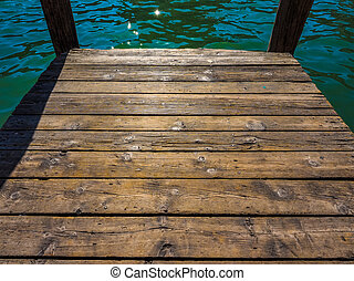 A wooden pier HDR