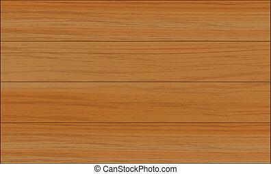 A wooden tile