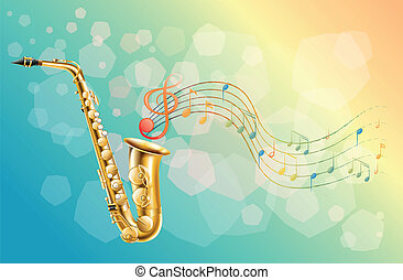 A woodwind instrument - Illustration of a woodwind...